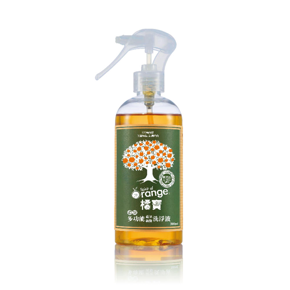 Gbao橘寶 天然洗淨劑300ml/瓶 Vitamix TNC調理機專用 (陳月卿推薦)