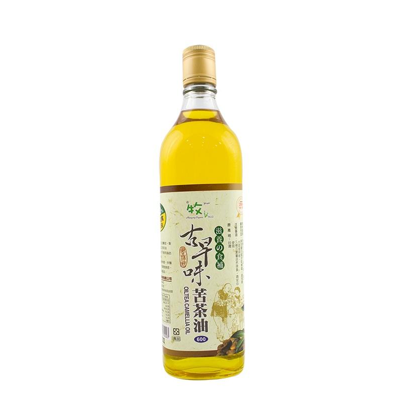 100%頂級古早味台灣苦茶油 600ml/罐