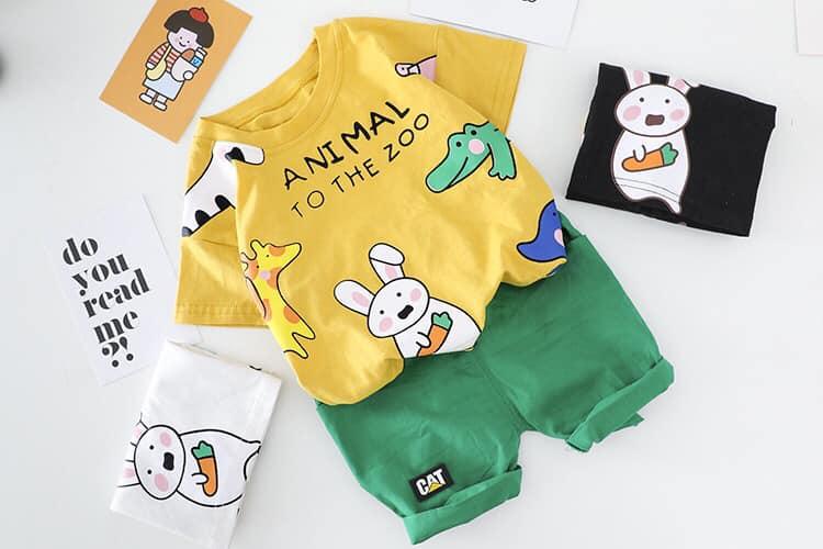 韓版 - 繽紛可愛動物套裝