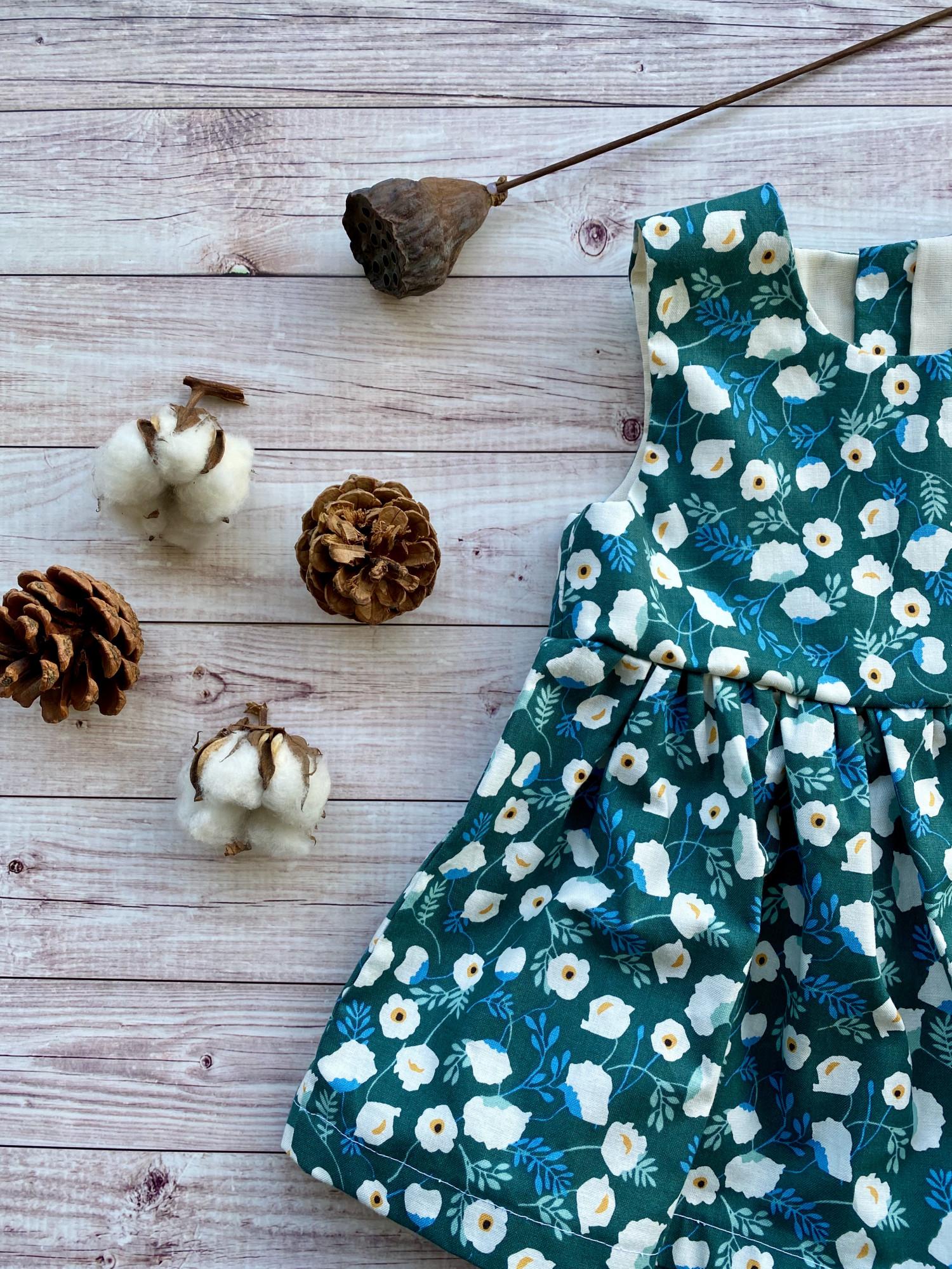 韓國棉布背心裙