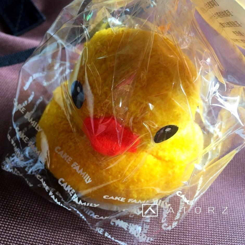 黃色小鴨蛋糕巾 (正版授權,絕版限量)