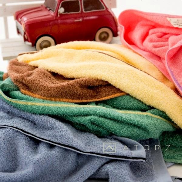 美棉吊環典雅小浴巾