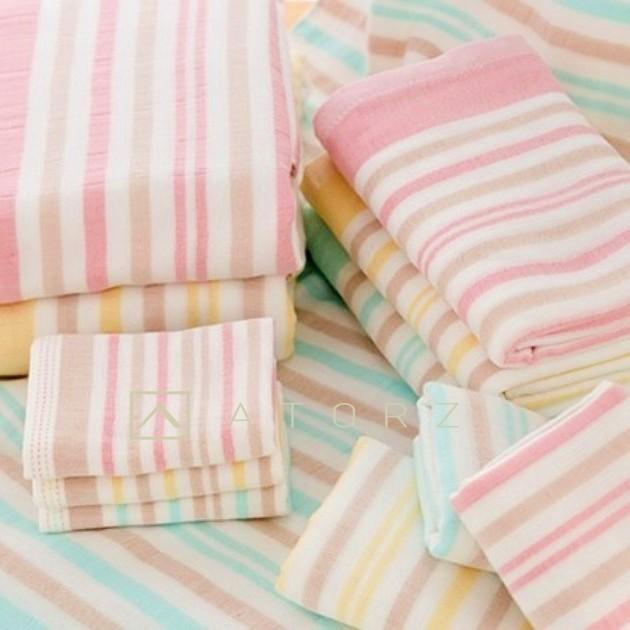 經典美棉雙層紗布毛巾