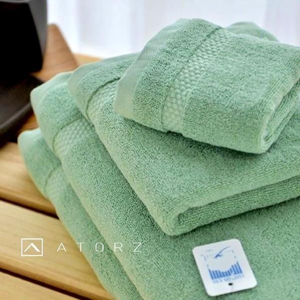 紐約風雙股美棉毛巾