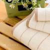 有機染緞紋美棉毛巾 / 單色2入