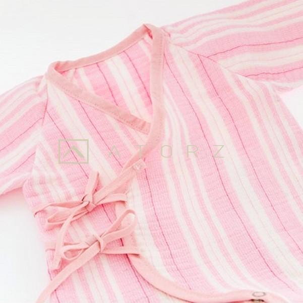 高級紗布組織層寶寶蝴蝶衣