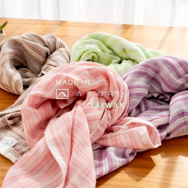 時尚保暖漸層紗布圍巾