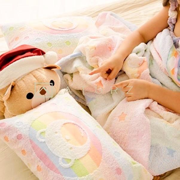 美棉彩虹小枕頭
