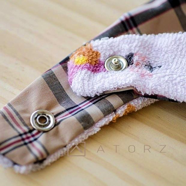 防水布釘釦口水巾