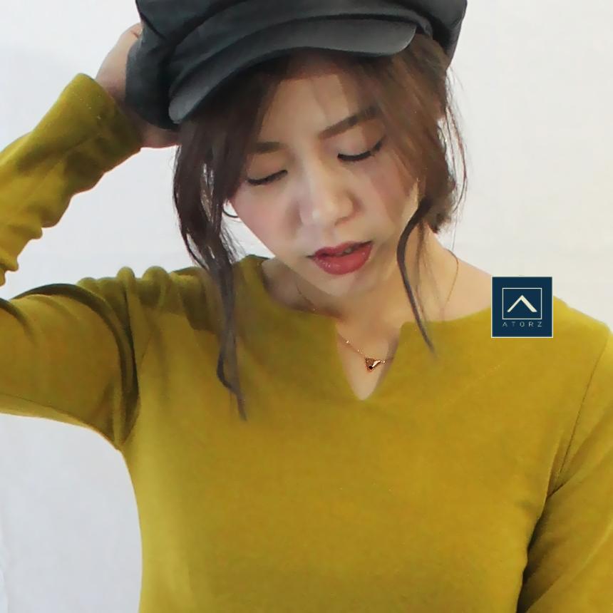 VENV 品牌形象純銀項鍊‧V Design