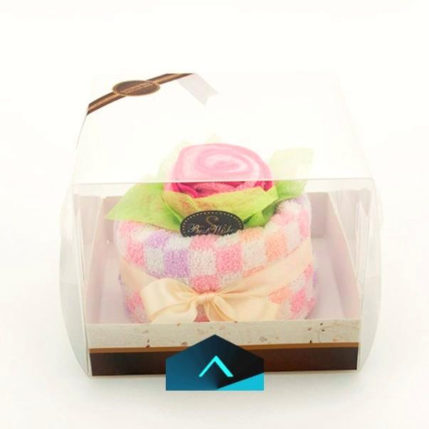 夢幻擦髮帽蛋糕禮盒