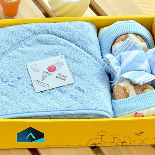 童包巾彌月禮盒