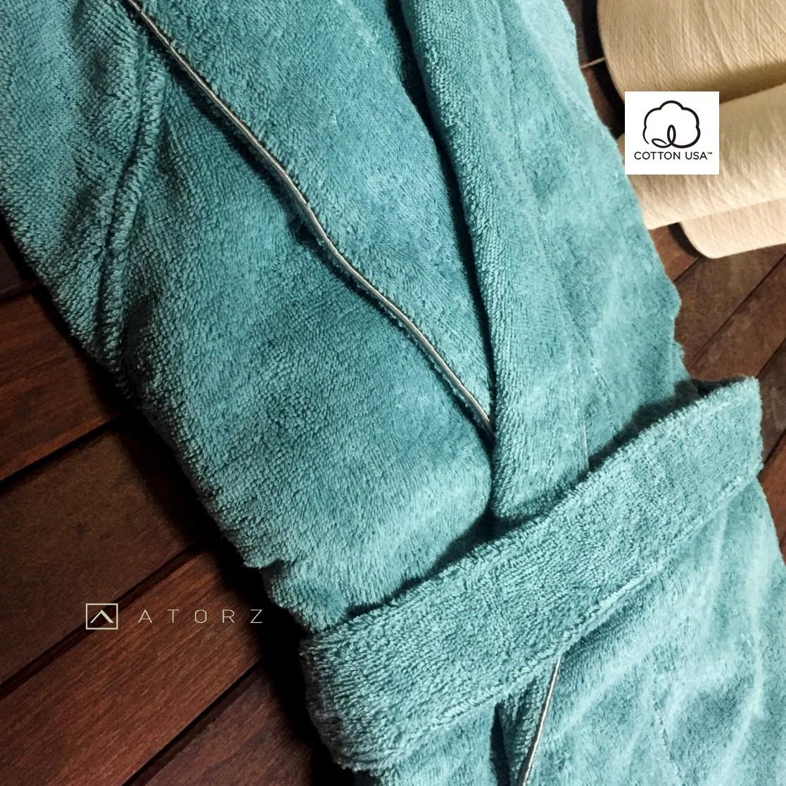 美國棉雅痞紳士浴袍