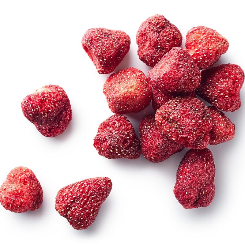 草莓牛奶果乾