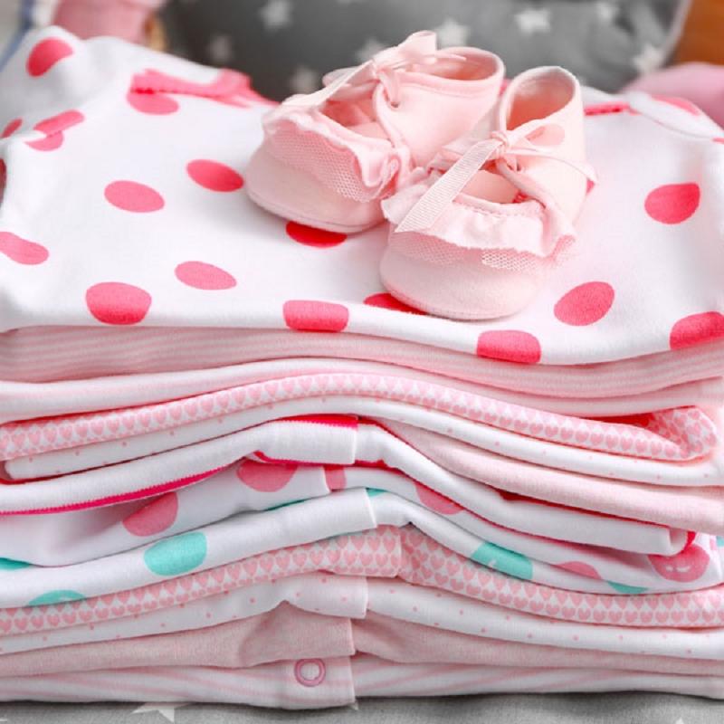 粉紅點點小短袖 設計師款