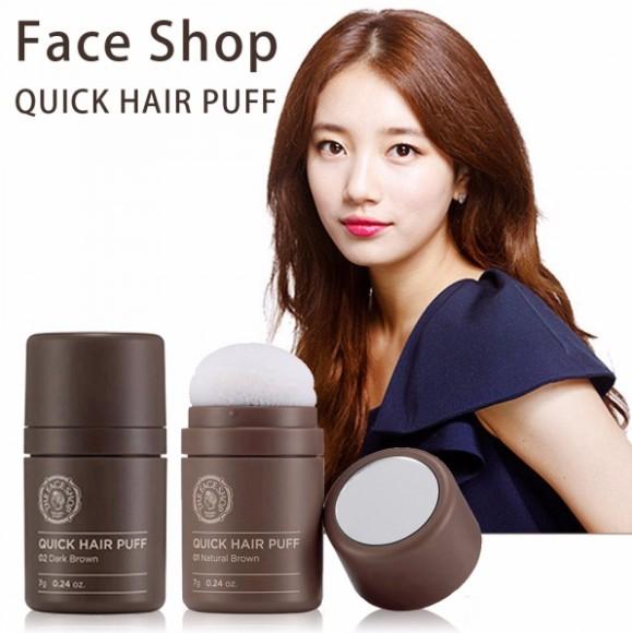 [指標愛購物] The Face Shop 自然遮色氣墊髮粉-7g