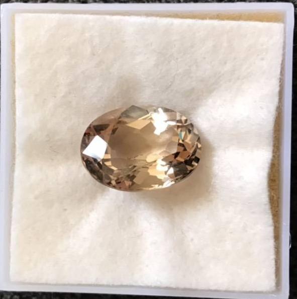 20克拉象徵和平與友誼的黃玉拓帕石(珠寶可訂製項鍊或者戒指