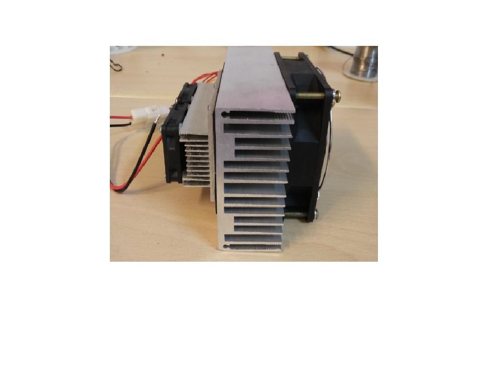 DC12V 40W 製冷器模組+DC12V電源供應器(含配線)