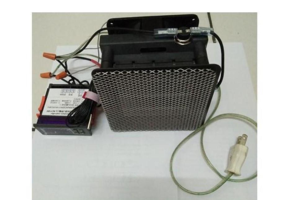 AC110V溫控熱風模組(熱風機*1+數位溫控*1)
