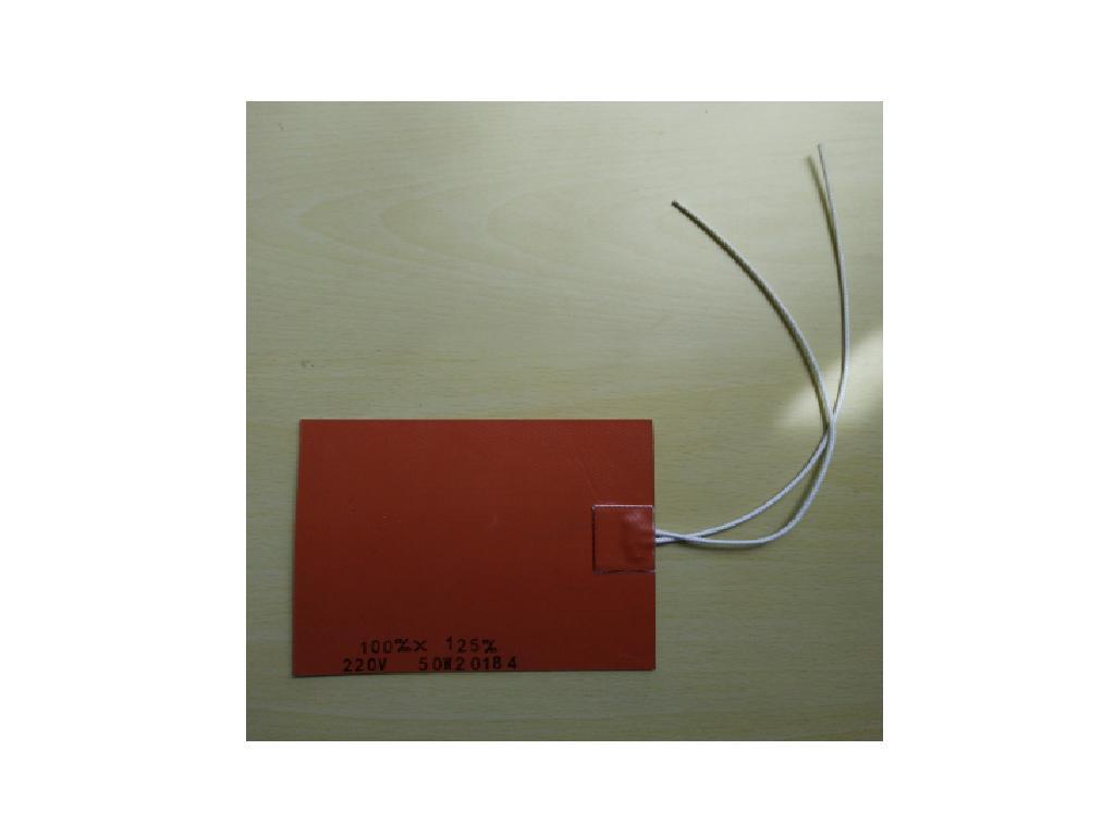 AC110V 表面最高溫度90~100度軟性電熱片