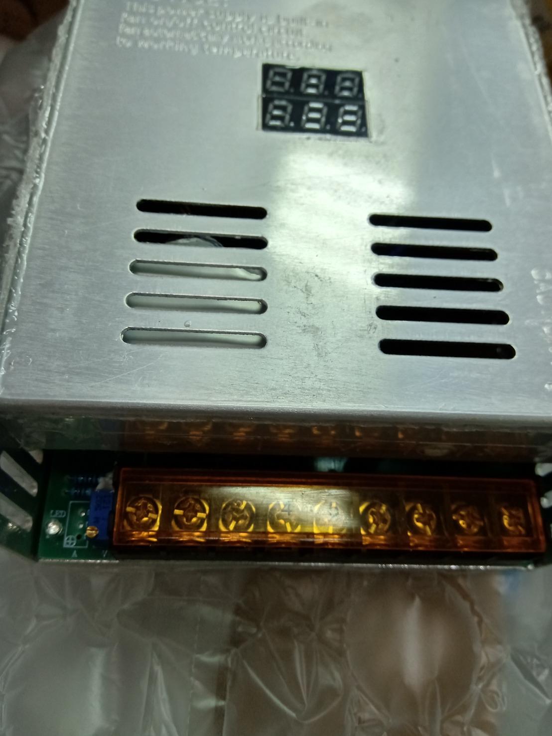 AC110V/220V轉 DC0~24V 600W 電源供應器 電壓電流雙顯示並可調整