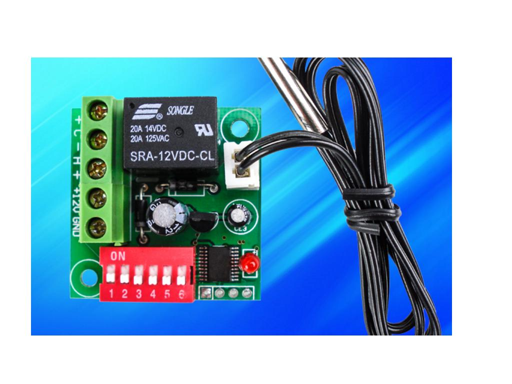 DC12V指撥調溫 數位式溫度控制器