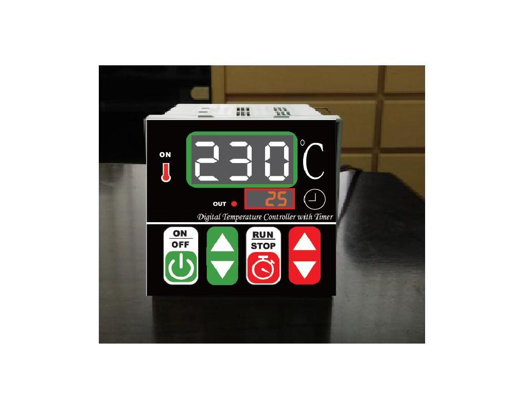 烘培用溫度時間控制器(含1支感溫棒)