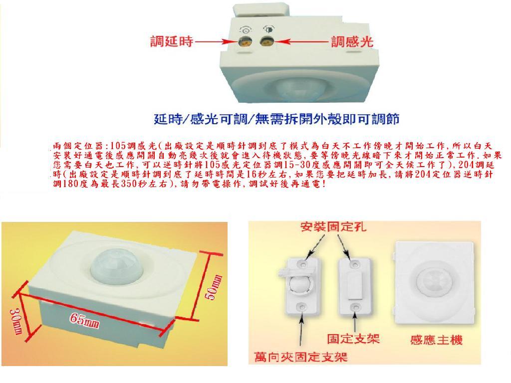 AC110V 500W紅外線人體感應熱風機