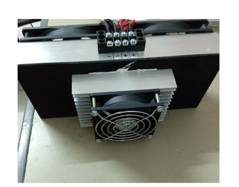 接AC110V 電就可以用寵用用DC12V 180W 風冷式 致冷模組 吹出冷風+DC12V/30A電源供) 整組裝配好