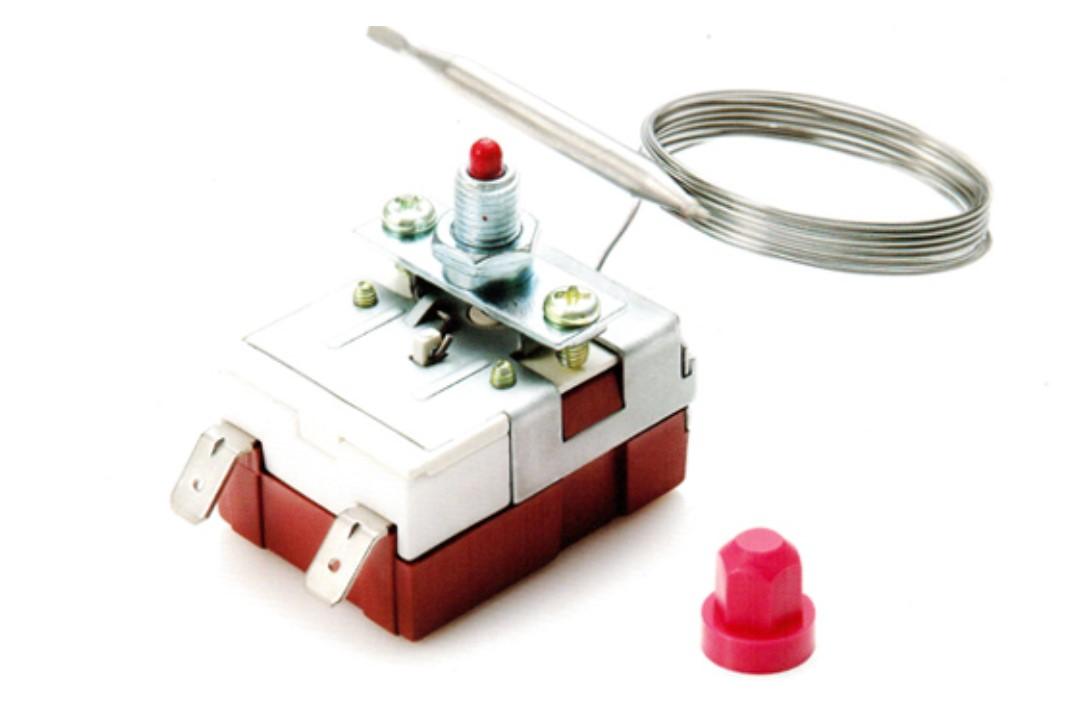 韓國彩虹RAINBOW 20A大電流 手動復位液漲式溫控器