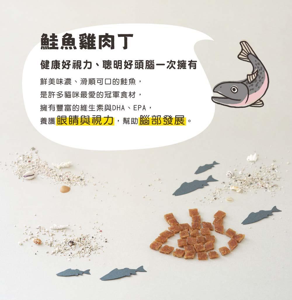 Hyperr超躍 一口嫩丁 貓咪零食點心雞肉丁 雞肉乾 章魚扇貝螃蟹鮭魚鱈魚