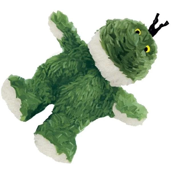 美國KONG Refillable Catnip Toys Frog / 青蛙貓草玩具(NF4) 附貓薄荷