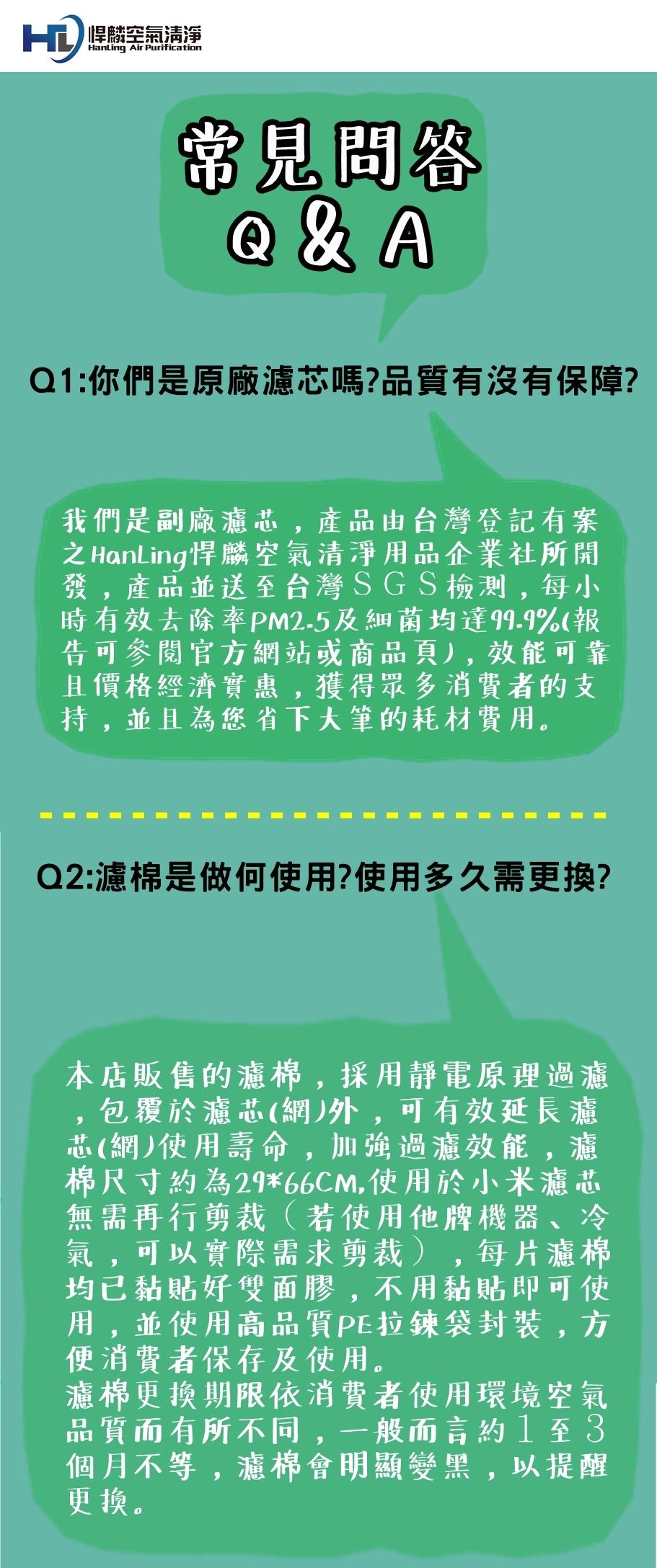 小米用空氣清淨濾芯(經濟版)