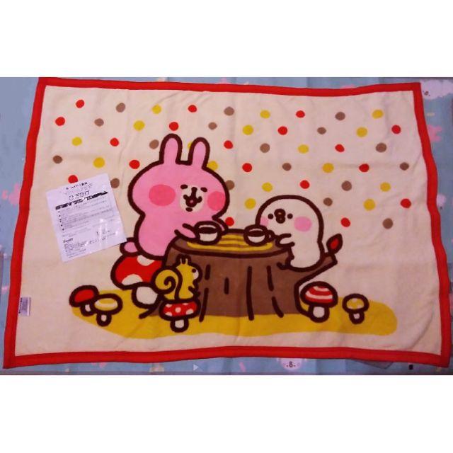 全新現貨 絕版 日本一番賞 卡娜赫拉 卡納赫拉 秋天 毯子 毛毯 兔兔 p助 kanahei 抽獎