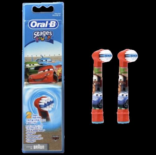 德國百靈Oral-B-兒童迪士尼刷頭(2入)EB10-2 (汽車)
