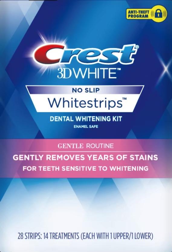 美國Crest 3D White 美白牙貼(14天份)