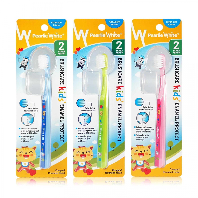 新加坡口腔護理第一品牌 琺瑯質保護牙刷(3色隨機出貨)
