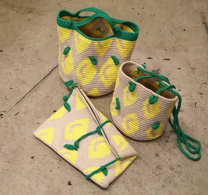 夏日檸檬包(選完線後,才能加購成為此包款套組)