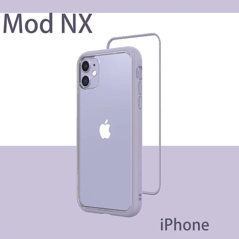 【犀牛盾】iPhone 11 薰衣草紫 (6.1吋) 邊框防摔手機殼 Mod NX 犀牛盾手機殼