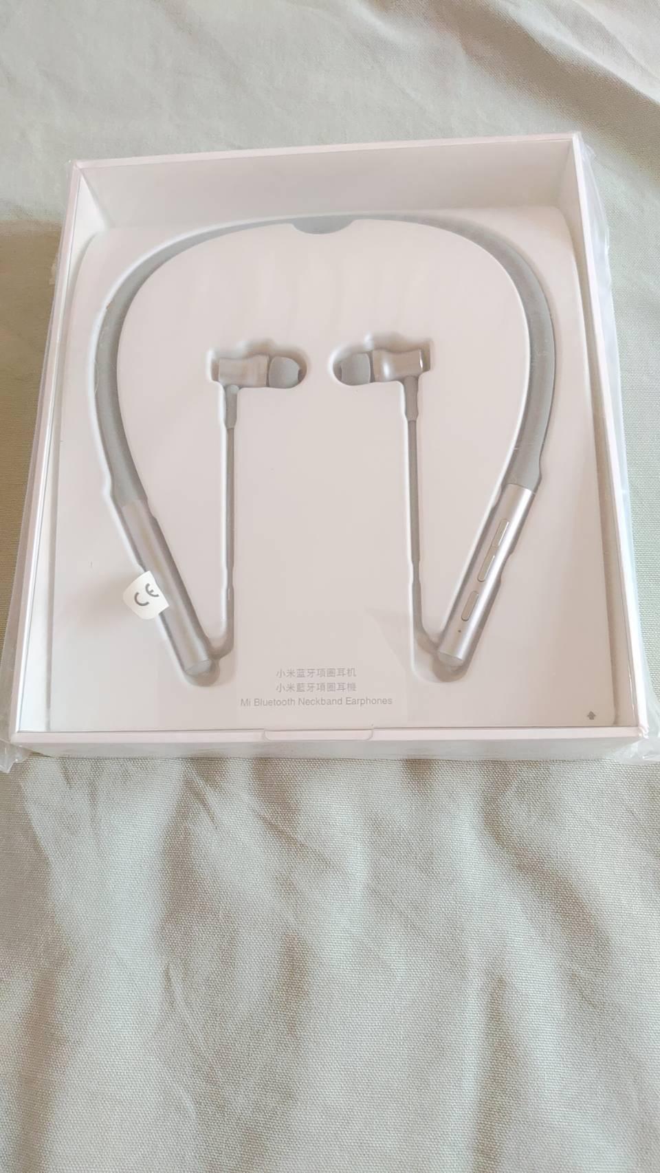 全新 小米藍牙項圈耳機 灰色 台灣小米公司貨,附購買證明
